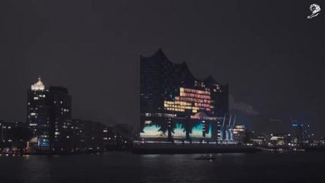 The Elbphilharmonie Hamburg: The Elbphilharmonie Grand Opening Ambient Advert by Jung Von Matt/Alster Hamburg