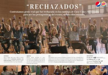 Pepsi: Rechazados [spanish image] Digital Advert by We Believers