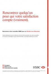 HSBC: HSBC, 7 Print Ad by Saatchi & Saatchi + Duke France