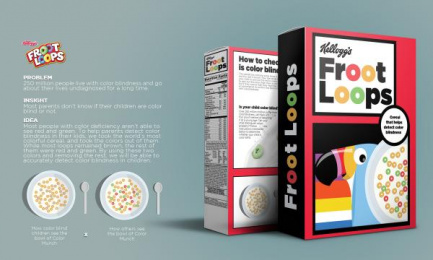 Froot Loops: Cereal for the Colorblind Direct marketing by Miami Ad School Mumbai
