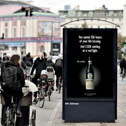 Fernet: Life is bitter, 2 Outdoor Advert by Ogilvy Copenhagen