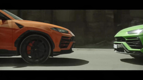 Lamborghini Urus: The Chase Film by Indiana Production Company, Providence Italy