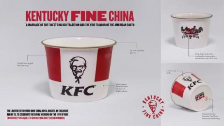 Kentucky Fried Chicken (KFC): Kentucky Fried Chicken (KFC) Print Ad by Iris London