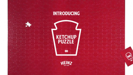 Heinz: Ketchup Puzzle, 2 Direct marketing by Rethink