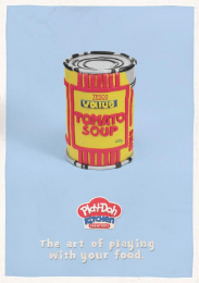 Play-doh: Banksy Print Ad by TwoAM.Agency