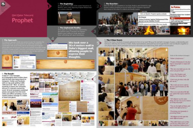 Qtel: PROPHET Case study by Leo Burnett Doha, WALLIS Doha
