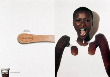 Haagen-dazs: COOKIES AND CREAM Print Ad by Upgrade Comunicacao Total