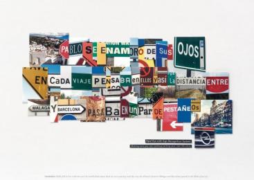 Opel: Pablo Print Ad by Y&R Madrid