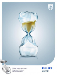 Philips: Hourglass Print Ad by TAG Toronto