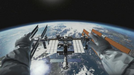 BBC: Home: A VR Spacewalk [supporting image] 1 Digital Advert by Rewind St. Albans