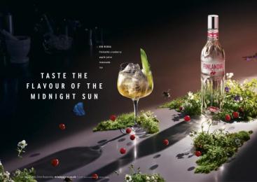 Finlandia Vodka: Fin Ruska Print Ad by Wieden + Kennedy London