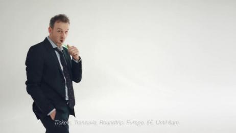 Transavia.com: Digital Film by HUMANSEVEN
