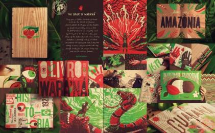 Antarctica: The Book Of Waraná Print Ad by F/Nazca Saatchi & Saatchi Sao Paulo