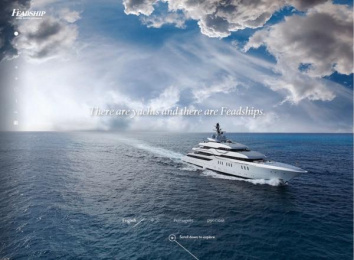 FEADSHIP: FEADSHIP WEBSITE Digital Advert by Amsterdam Worldwide, STUDIO STOMP