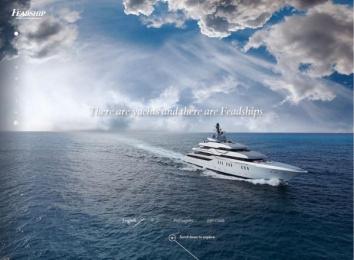 FEADSHIP: FEADSHIP WEBSITE Digital Advert by Amsterdam Worldwide, STUDIO STOMP