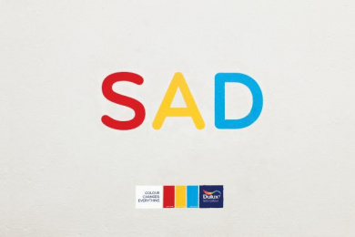 Dulux Paints: Sad Print Ad by BBH Shanghai