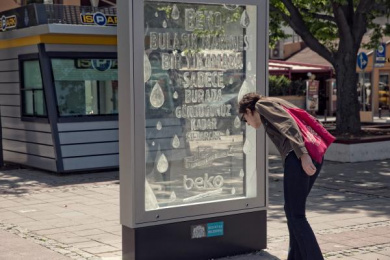 Beko: The Aquaboard [image] 1 Outdoor Advert by Mccann Istanbul