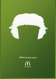 Mcdonald's Fast Food Restaurant: Drink Print Ad by Heye & Partner Munich