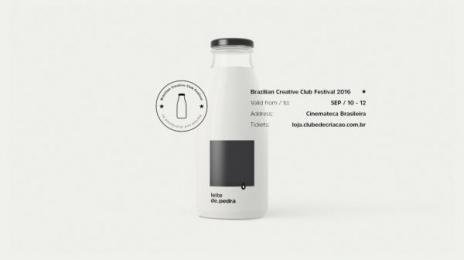 Clube De Criacao De Sao Paulo: Stone Milk [image]  Design & Branding by FCB Sao Paulo, Vetor Zero/Lobo