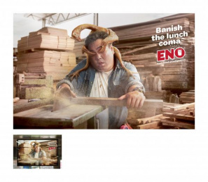 Eno: BRAISED CHICKEN Outdoor Advert by Ogilvy & Mather Kuala Lumpur