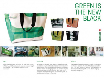 Heineken: Green is the new black Print Ad by J. Walter Thompson San Juan