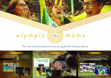 Procter & Gamble: Olympic Moms [image] Digital Advert by Grey Sao Paulo