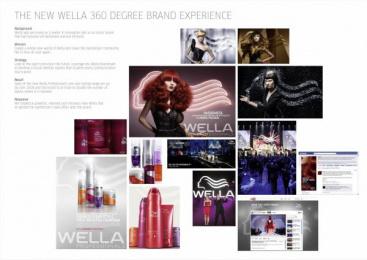 Wella Hair Colour: THE NEW WORLD OF WELLA Design & Branding by Landor Geneva