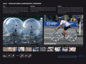Asics Sportswear: Asics Triathlon Ambient Advert by Nordpol Hamburg