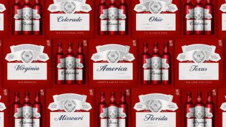 Budweiser: BUDWEISER SUMMER 2017 LTO STATE PACKAGING , 2 Design & Branding by Jones Knowles Ritchie New York