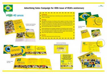 Veja Magazine: VEJA 40 ANOS Print Ad by Editora Abril
