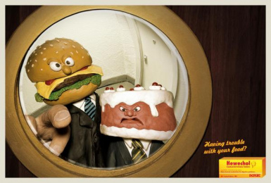 Digestive Pills: DOOR Print Ad by DDB Berlin