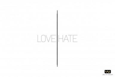 VU Tv: LOVE HATE Print Ad by Publicis Ambience Mumbai
