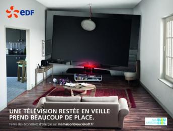 Edf Energy Supplier: EDF, Tous aux economies d'énergi, 1 Print Ad by Havas Worldwide Paris