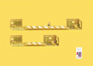 Britanico: Job Print Ad by Y&R Lima