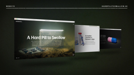 Apotek Hjärtat: A Hard Pill To Swallow, 3 Print Ad by Akestam.holst Stockholm, BKRY NoA / Stockholm