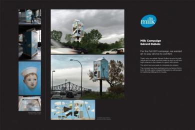 Federation Des Producteurs De Lait Du Quebec: MILK, NATURAL SOURCE OF COMFORT Design & Branding by Nolin BBDO Montreal