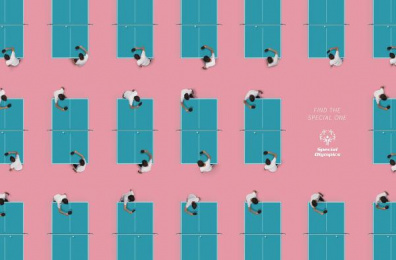 Special Olympics: Patterns - Ping Pong [english] Print Ad by Shaktiprod, Y&R Mexico