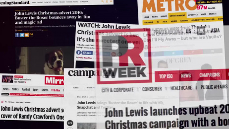 John Lewis: Buster The Boxer [presentation video] Film by adam&eveDDB London, Blink Productions