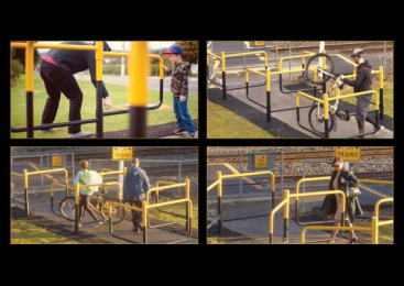 KiwiRail: The Conscious Crossing [image] 2 Outdoor Advert by Clemenger BBDO Wellington, Flare