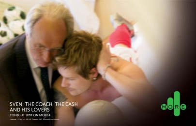 Sven: The Coach, The Cash And His Lovers: SVEN & BECKS Print Ad by 4creative