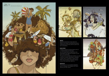Wella Hair Care: HAIR WITH PERSONALITY Design & Branding by DraftFCB Tel Aviv