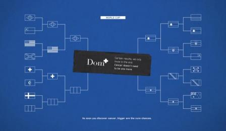 Dom Diagnostic Medicine: World Cup Print Ad by Pirueta Ideias