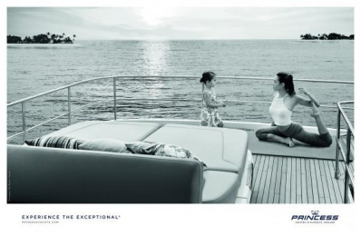 Princess Yachts: Experience The Exceptional Print Ad by Bsur Amsterdam