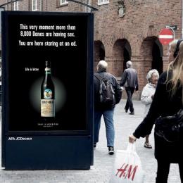 Fernet: Life is bitter, 4 Outdoor Advert by Ogilvy Copenhagen