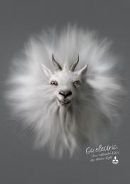 Mitsubishi PHEV: Goat Print Ad by Africa Sao Paulo