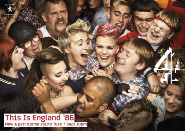 Channel 4: This Is England'86 - Press Print Ad by 4creative