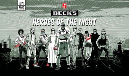 Beck's: Heroes Of The Night, 2 Print Ad by Serviceplan, Germany