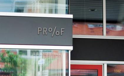 Proof Cocktails & Curiosities: Pr%F Identity, 2 Design & Branding by Wax