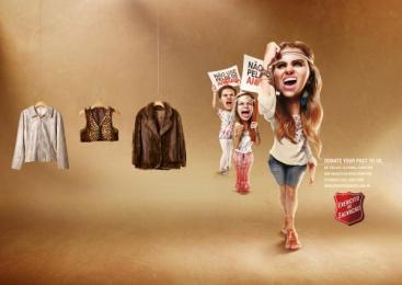 Salvation Army: Hanger- Peta Print Ad by WMcCann Sao Paulo