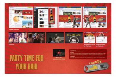 Park Avenue: BEER SHAMPOO Digital Advert by Publicis Ambience Mumbai